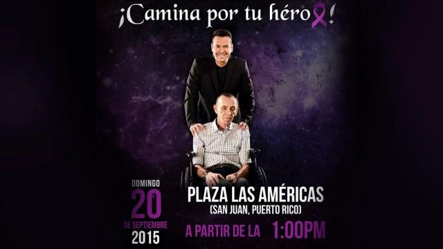 Víctor Manuelle se comprometió a luchar contra el Alzheimer, que es la enfermedad que sufre su padre. (Foto: Facebook/VíctorManuelle)