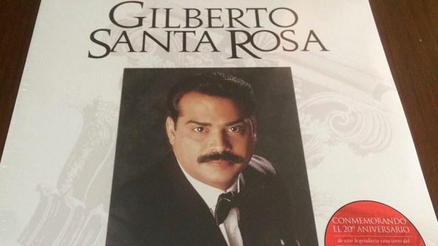 Disco lanzado en 2015 al cumplirse 20 años del show de Gilberto Santa Rosa en el Carnegie Hall. (Foto: Facebook de Gilberto Santa Rosa)