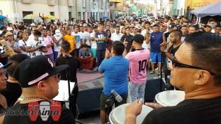 """Padilla estuvo acompañado por K'llao Salsa. El repertorio incluyó los temas: """"Llora"""", """"Aléjate de mí"""", """"Pa' bravo yo"""" y """"Callao, puerto querido"""". (Foto: Salserísimo Perú)"""