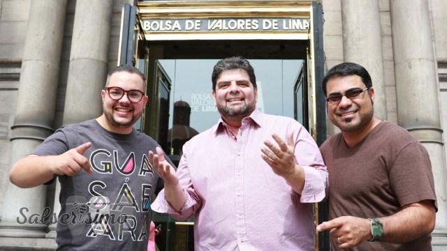 Ya cotiza en la bolsa. La agrupación de José Lugo estuvo por Lima promocionando su nueva producción. (Foto: Salserísimo Perú)