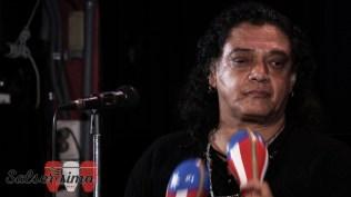 Víctor Zanelli, ex integrante de La única de Aníbal López, también puso su cuota de salsa durante el evento en el Jazz Zone. (Foto: Salserísimo Perú)