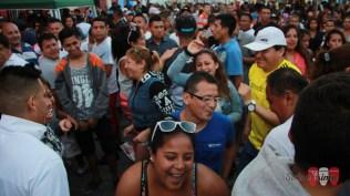 Grupos de distintos lugares del Primer Puerto se dieron cita en el lugar. (Foto: Salserísimo Perú)