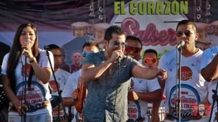 Luchito Muñoz en tarima. (Foto: Salserísimo Perú)