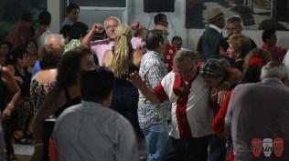 El local estuvo repleto de gente. Un gran gesto para un personaje tan querido como el Mocho. (Foto: Salserísimo Perú)