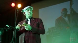 El investigador cubano Ricardo Oropesa, demostró ser un bailador empedernido. (Foto: Salserísimo Perú)
