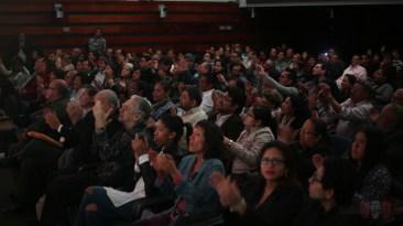 El auditorio de la Derrama Magisterial fue testigo de una noche histórica. (Foto: Salserísimo Perú)