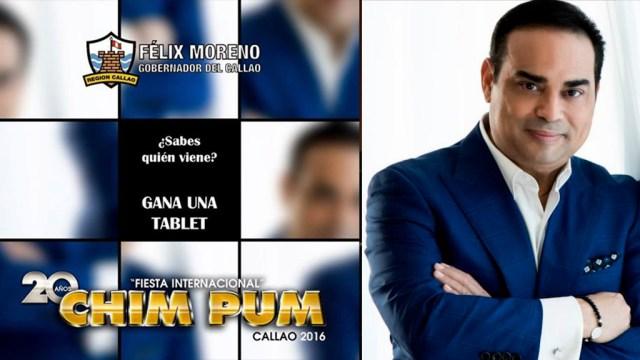 El Gobierno Regional lanzó una fotografía desenfocada a modo de incógnita para que el público adivine. (Foto: Facebook/GilbertoSantaRosa)