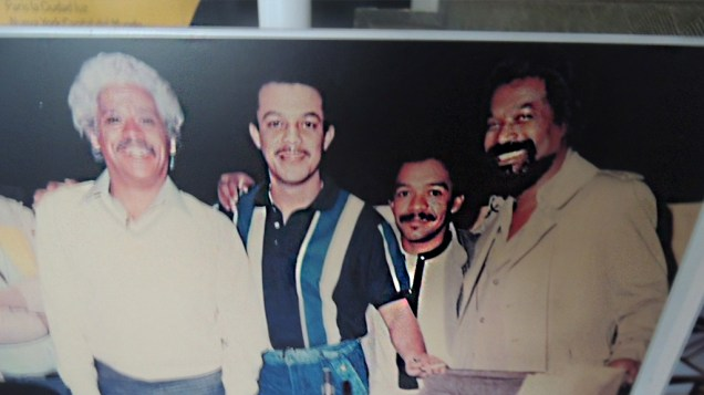 Johnny Pacheco y Pete El Conde Rodríguez conocieron de cerca el talento de Jairo. (Foto: Salserísimo Perú)