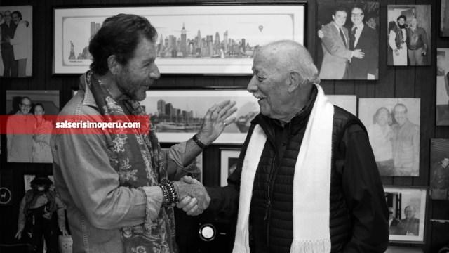 Frank Griffiths y Jorge Fernández trabajan juntos desde hace más de treinta años. Una dupla sin igual. (Foto: Antonio Alvarez F./Salserísimo Perú)