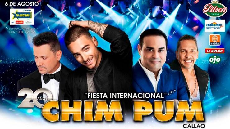 Afiche oficial del Festival Chim Pum Callao 2016. (Imagen: Facebook)