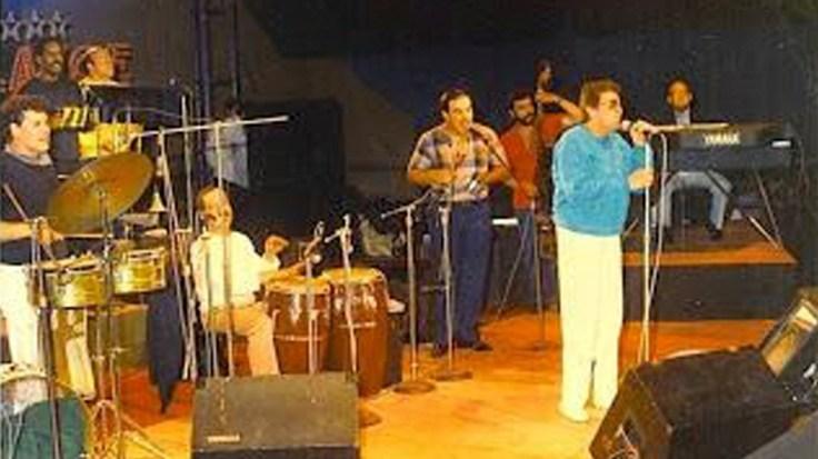 Héctor durante su show en el Estelar de la Feria del Hogar. (Foto: Jhonny Torres)
