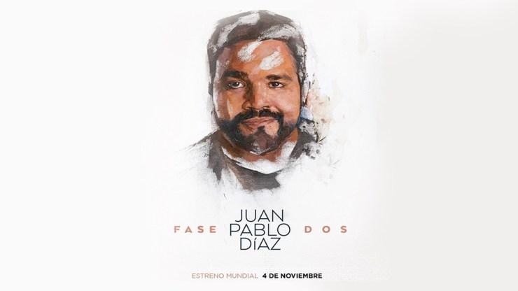 Portada oficial del disco 'Fase dos' de Juan Pablo Díaz. (Foto: Facebook/JuanPabloDíaz)
