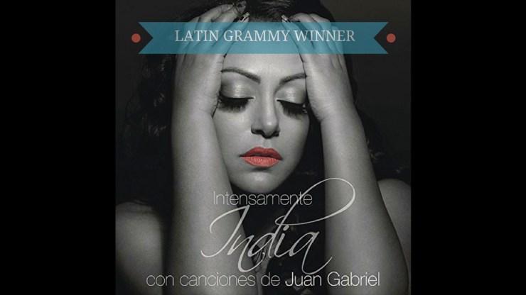 Portada del álbum ganador en los Latin Grammy 2016. (Imagen: Facebook/India)