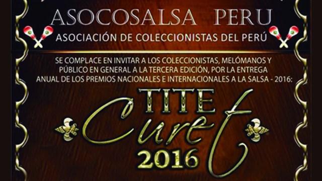 Los premios Tite Curet serán entregados el próximo 8 de diciembre en Miraflores. (Imagen: Facebook7Asocosalsa Perú)