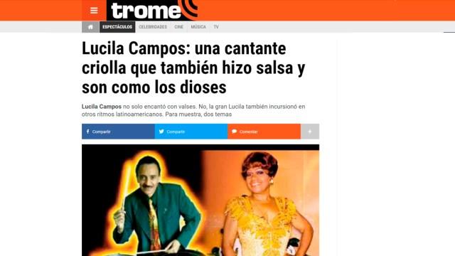 Alianza Entre Salserísimo Perú Y La Web Del Diario Trome