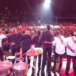 El Grupo Niche agradecido con la acogida del público peruano