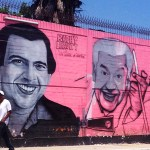 Retratan a Tito Puente y a Ray Barretto en Las Caras de Atahualpa