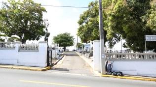 Entrada al cementerio San José de Villa Palmeras. Allí reposan los restos de Ismael Rivera, Rafael Cortijo, Tommy Olivencia y Pellín Rodríguez. (Foto: Antonio Alvarez F./Salserísimo Perú)