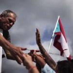 Música y baile por Oscar López Rivera en Puerto Rico