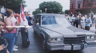 Llegada del cortejo fúnebre al Cementerio Municipal de Ponce. (Foto: Cortesía Priscila Vega)