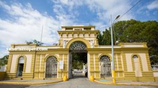 Frontis del Cementerio Municipal de Ponce. (Foto: Antonio Alvarez F./Salserísimo Perú)