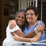 El histórico encuentro de las hermanas de Lavoe y Maelo [VIDEO]