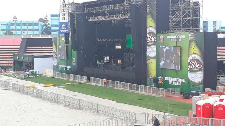 El ingreso al estadio está programado para las 5 de la tarde. (Foto: Gobierno Regional del Callao)