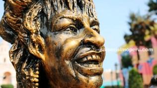 Esta es la primera estatua de la Reina de la Salsa en nuestro país. (Foto: Salserísimo Perú)
