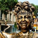 Celia Cruz: su escultura en tamaño real hecha en el Callao [GALERÍA]