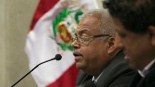 Rigoberto Villalta, abogado y conocedor de la salsa, habló de la problemática de la difusión de la salsa en las emisoras locales. (Foto: Antonio Alvarez F./Salserísimo Perú)