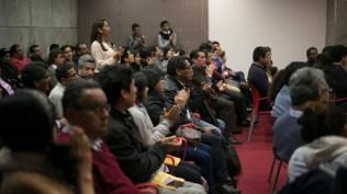 La sala estuvo llena incluso antes que empiece el conversatorio. (Foto: Antonio Alvarez F./Salserísimo Perú)