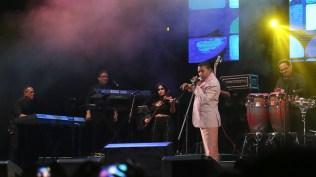 José Alberto 'El Canario' interpretó sus clásicos 'Discúlpeme señora' y 'Hoy quiero confesar'. (Foto: Antonio Alvarez F./Salserísimo Perú)