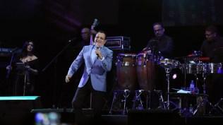 Ismael Miranda durante una presentación en el Festival Chim Pum Callao 2018. (Foto: Antonio Alvarez F./Salserísimo Perú)