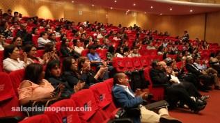 Al lugar del evento llegaron más de 200 personas. (Foto: Fernando Olivera / Salserísimo Perú)