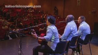 El Grupo Niche cerró el último conversatorio organizado por Salserísimo Perú, de la mano del Museo Jairo Varela. (Foto: Fernando Olivera / Salserísimo Perú)