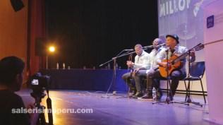 El público asistente coreó el tema que Jairo Varela le dedicó al Perú. (Foto: Fernando Olivera / Salserísimo Perú)