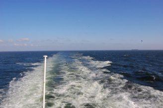 Leaving mainland Europe