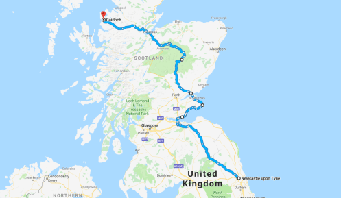 East Coast to Gairloch
