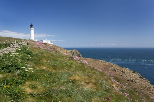 Lighthouse at Mull of Galloway