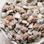 Christmas Puppy Chow Recipe Salt Lavender