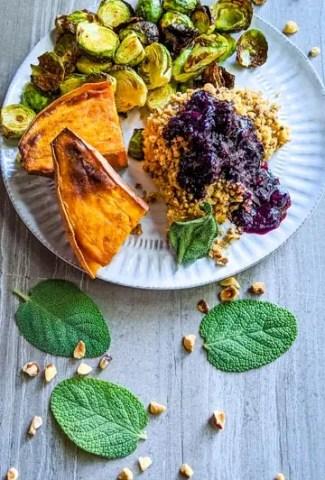 Hazelnut + Blueberry Stuffed Chicken Recipe