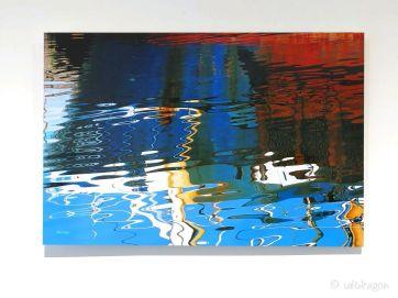 Jacoba reflections 60cm x 40cm on aluminium Dibond
