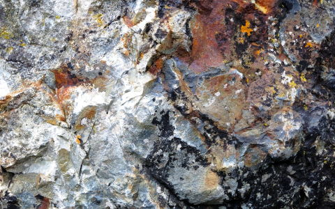 rock abstract near St Ives mobile version