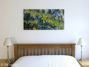 artwork mounted on aluminium Dibond