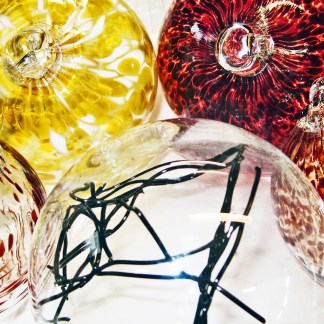Glass Blowing Spheres - Baubles Courses