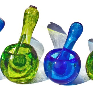 Glass Pestles & Mortars