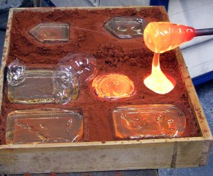 Glass Sand Casting Courses 2019 @ SALT Glass Studios