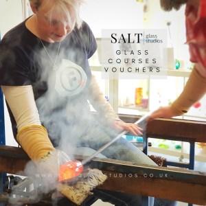 Sunday Glass Courses (3hrs) @ SALT Glass Studios