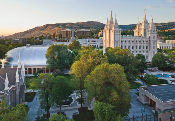 temple square spring, free things to do in salt lake city