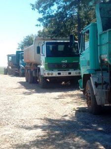 52908279_2248722518727285_8266852639300386816_n-225x300 Recuperação das estradas no interior são prioridades para o escoamento da safra de soja.